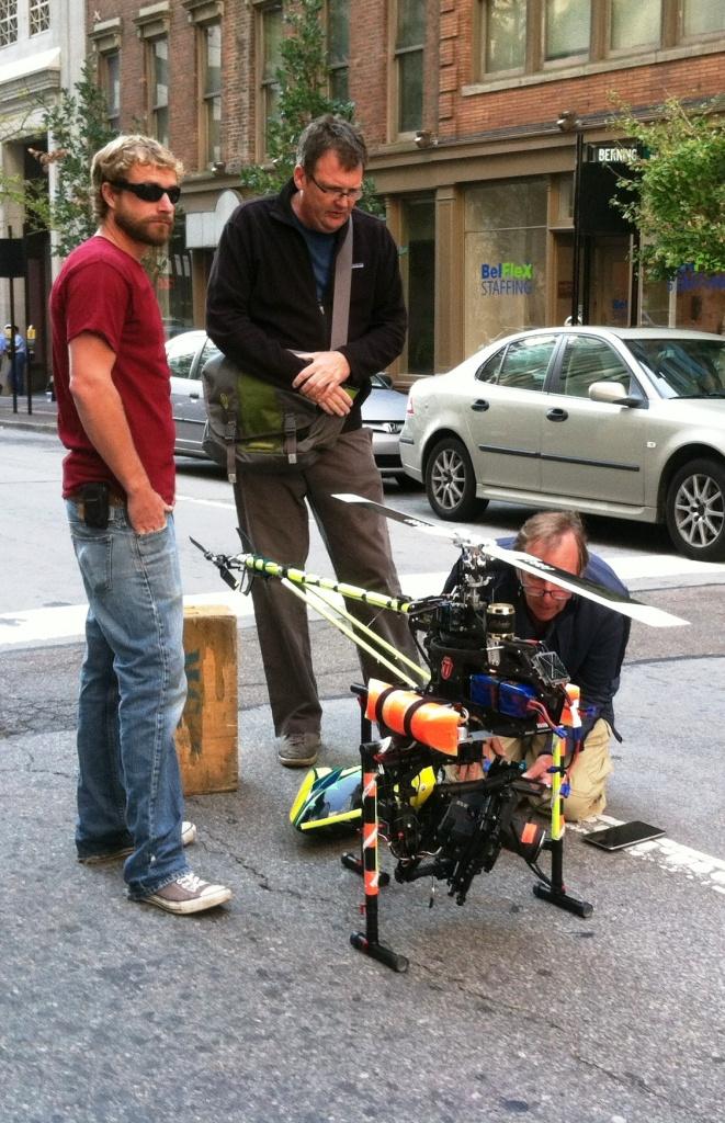 Cincinnati Closed Set Drone Aerial Cinematography