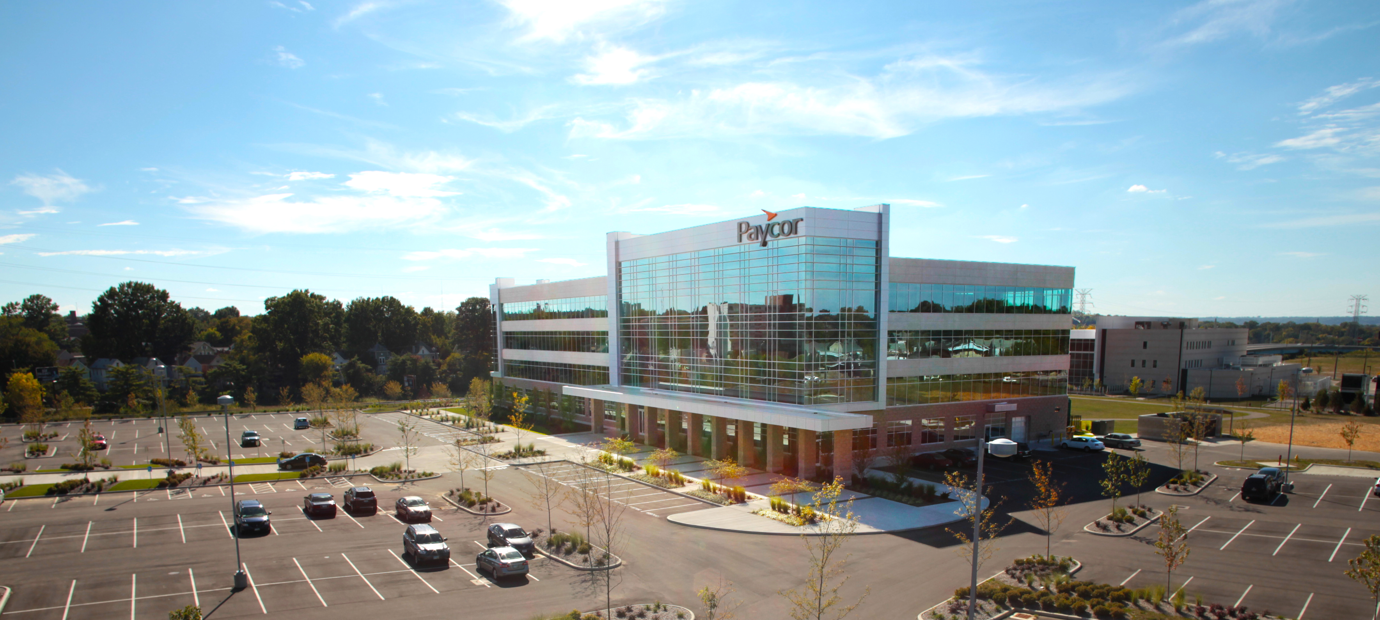 Cincinnati Drone Aerial Photography Paycor Headquarters