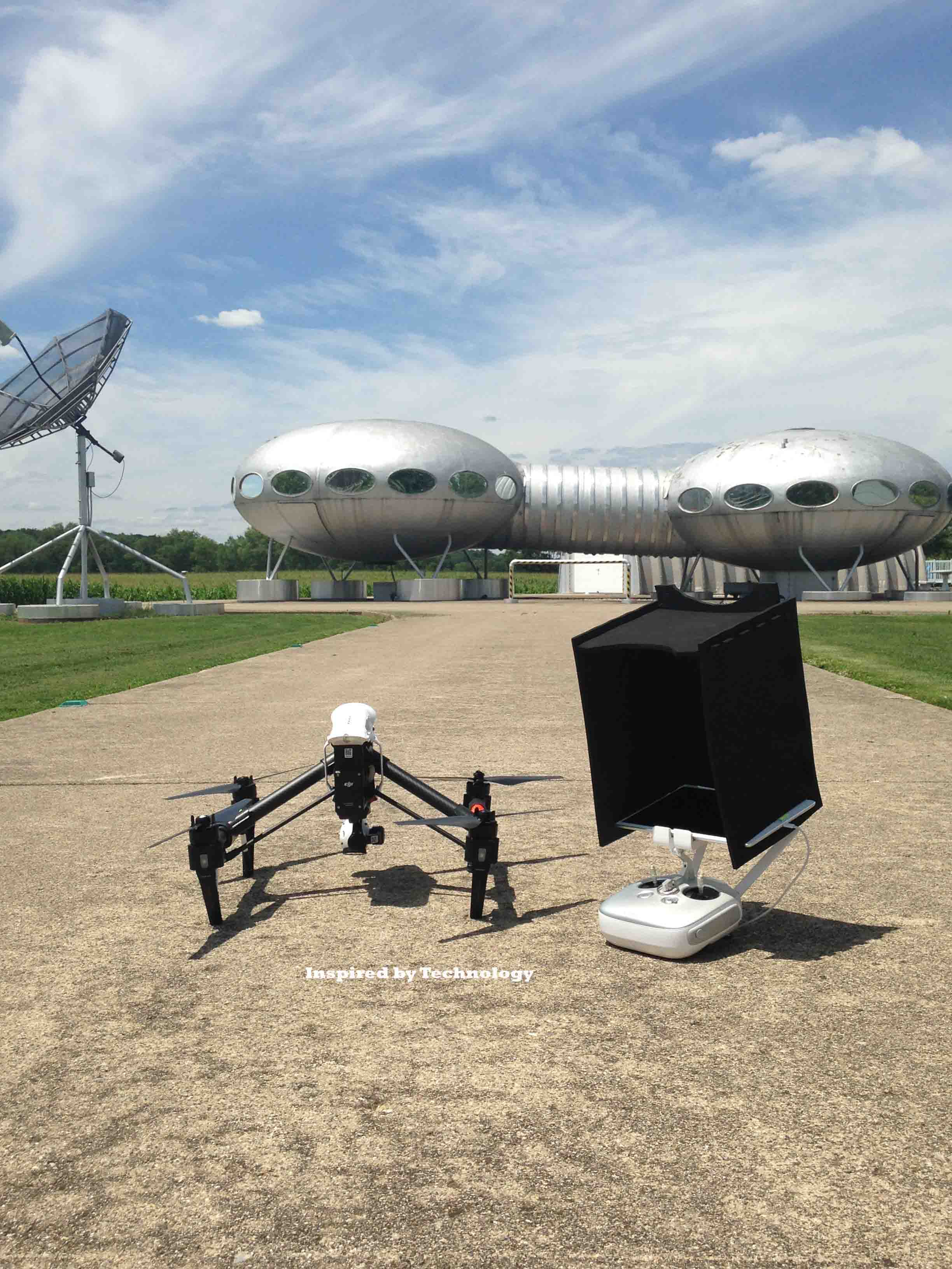 Ohio Drone Aerial Photography Spaceships