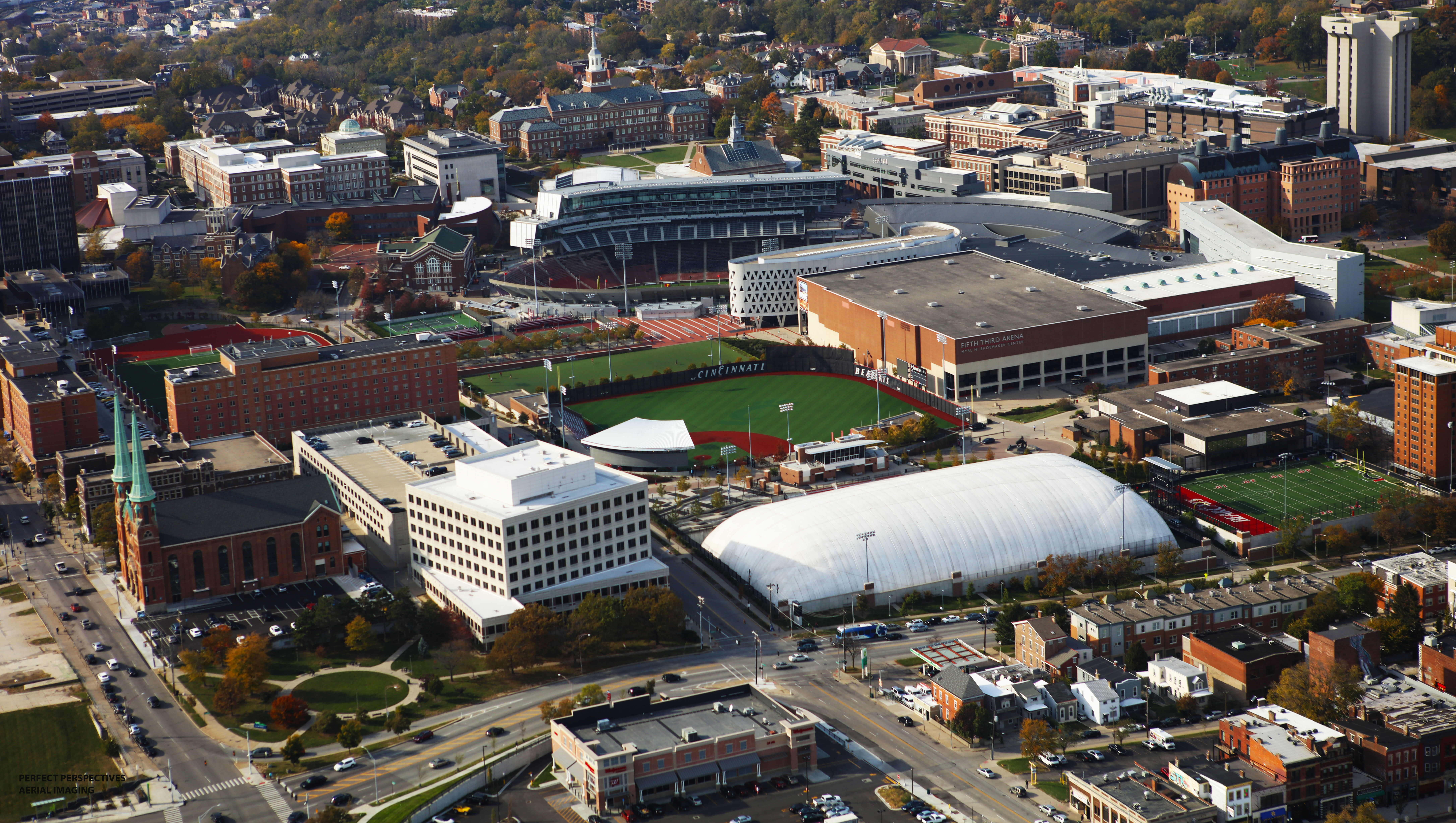 University of Cincinnati Aerial Photo